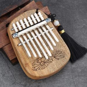 Image 2 - GECKO 8 Key Mini Kalimba African Camphor Wood Mahogany Thumb Piano Finger Percussion Keyboard Mbira Sanza Musical Instrument