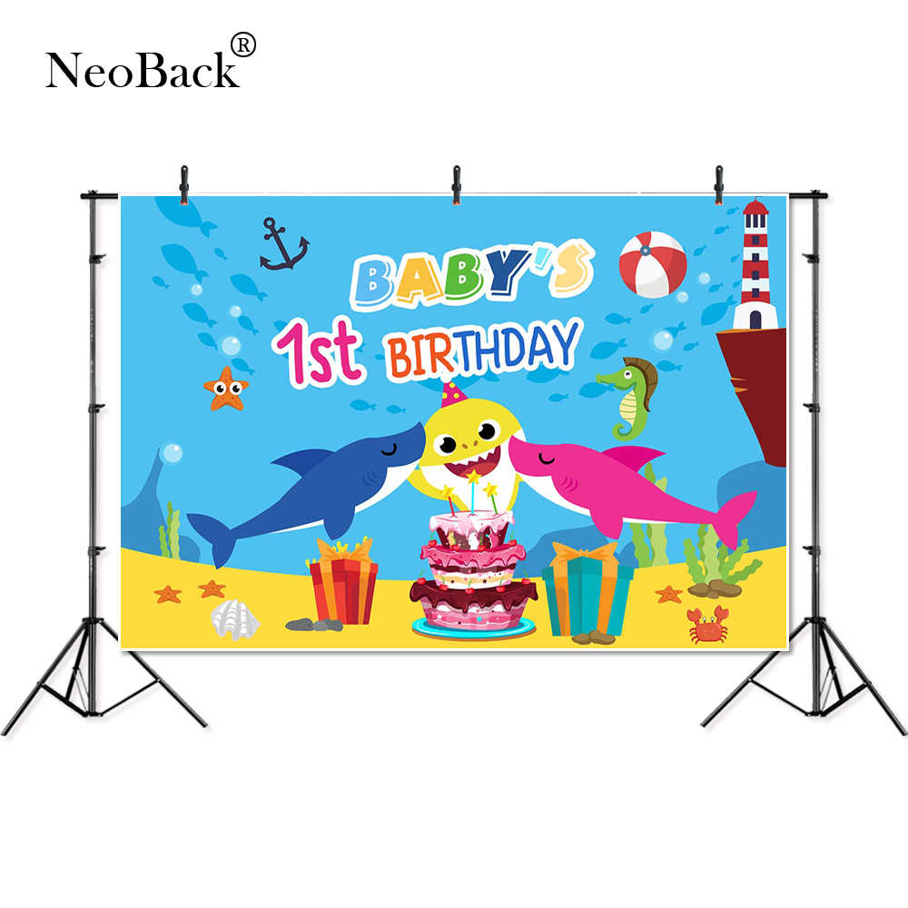 Detail Feedback Questions About Thin Vinyl Happy Birthday Baby Shark