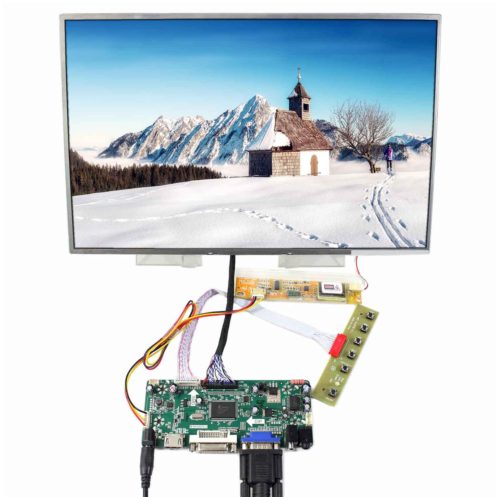 15,4 дюйма 1280x800 ЖК дисплей (один из B154EW01/02/04/06/08 LTN154AT01/07/10 и так далее) Работа с HDMI VGA DVI ЖК дисплей плате контроллера