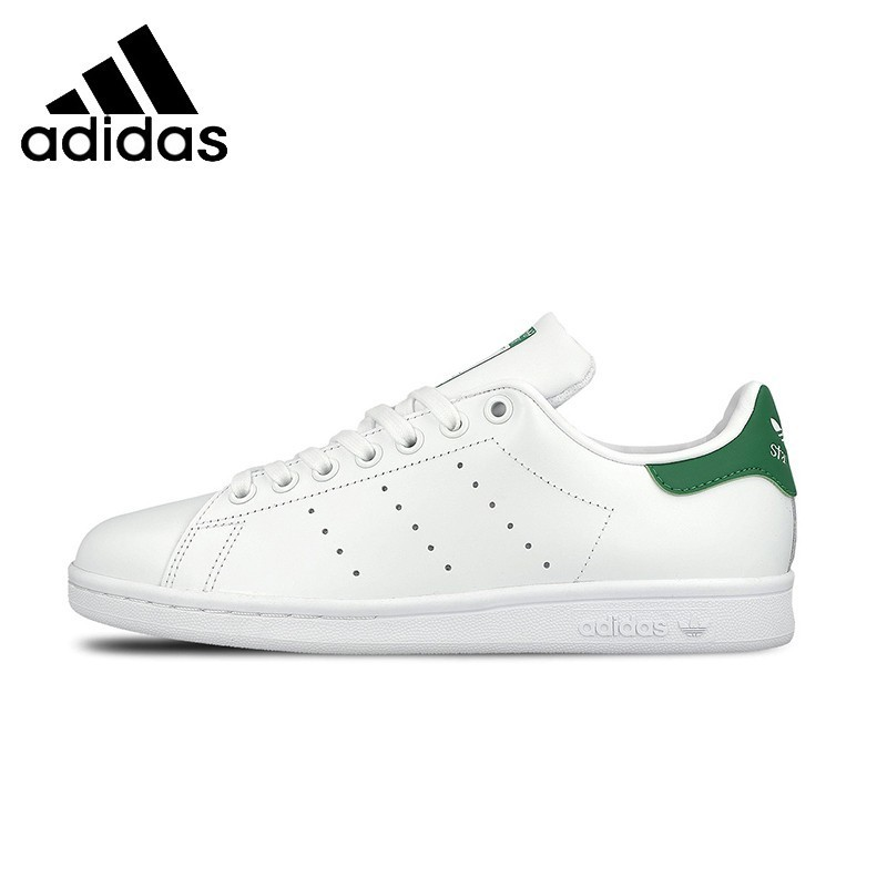 ADIDAS Stan Smith Mens & Womens Skateboarding Shoes Stability Comfortable Sneakers For Women And Men Shoes adidas adidas клевер 2017 зима классическая мужская спортивная серия stan smith кроссовок 42 5 ярдов m20325