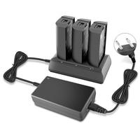Advanced High Capacity Version Charger for Parrot Bebop2 Power 3700mah 100 minutes High Capacity Battery  - EU/US/AUS/UK Plug