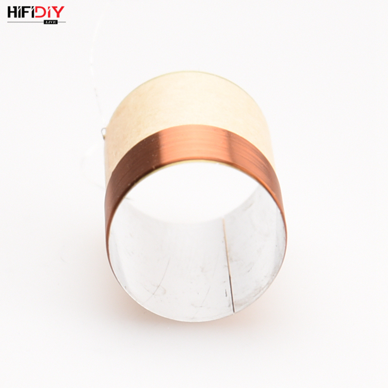 HIFIDIY LIVE 6 INCH~12 Inch 37mm~42.5mm Bass Voice Coil Speaker Repair Accessories White Aluminum Sound Air Outlet DIY Parts