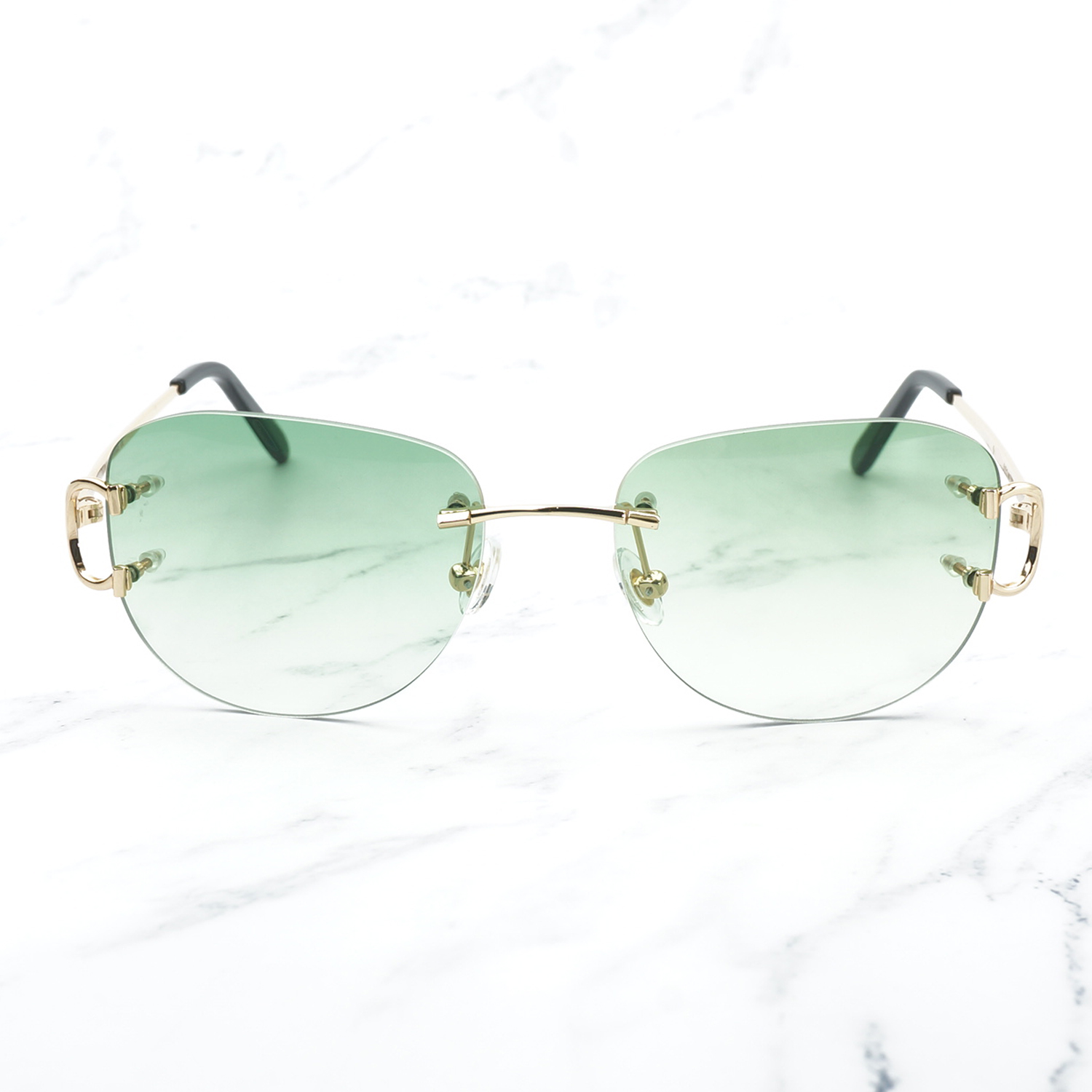 Image 3 - Vintage Pilot Sunglasses for Men Retro Carter Glasses Frame for Women A3 Wholesale Men Sunglass Promotion Female Glass Shades-in Women's Sunglasses from Apparel Accessories