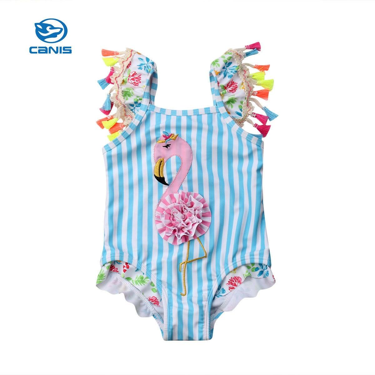 2019 Toddler Kids Baby Girls Flamingo Cartoon Bikini Swimwear Swimsuit Bathing Beach2019 Toddler Kids Baby Girls Flamingo Cartoon Bikini Swimwear Swimsuit Bathing Beach