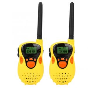 2pcs Mini 80-100M Kids Walkie Talkies Toy Electronic Radio Transceiver Voice Call Walkie-talkie Outdoor Portable Communicator