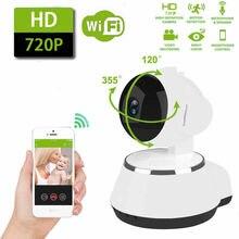 Mini caméra de surveillance IP WiFi, pour maison connectée, système de sécurité Caméra de babyphone avec résolution HD 720P, avec babyphone pour animaux de compagnie