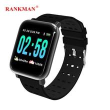 Rankman Smart Watch Fitness Steps Band Heart Rate Monitor Tracker Remove Camera Message Push Smartwatch Bracelet for Men Women