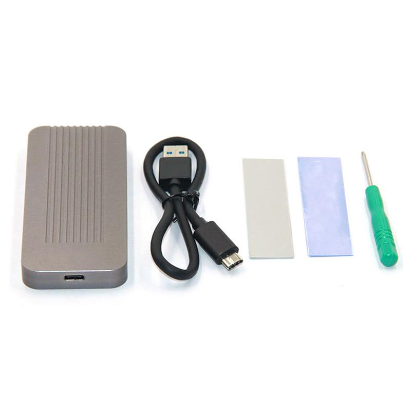 Boîtier Hdd disque dur disque dur tout Aluminium type-c 3.1 M.2 à Usb boîtier Hdd pour xt-xinte Lm902 Nvme
