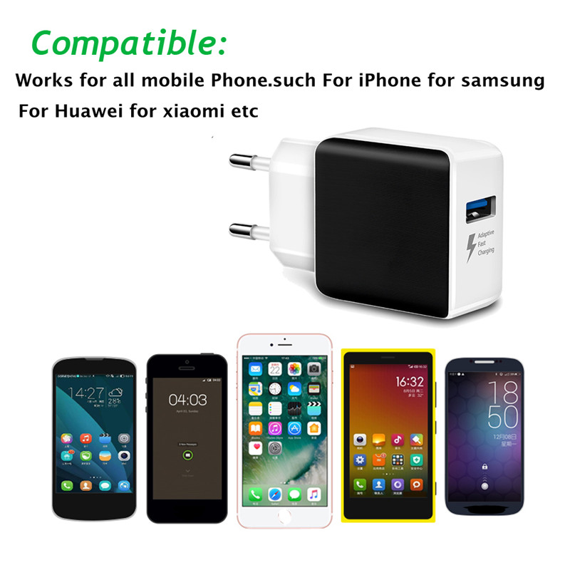 YWEWBJH USB Charger quick charge 3 0 for iPhone X 8 7 iPad Fast Wall Charger for Samsung S9 Xiaomi mi 8 Huawei Phone Charger in Mobile Phone Chargers from Cellphones Telecommunications