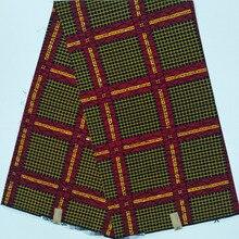Лучшее качество настоящий голландский настоящий воск африканская набивная ткань хлопок африканская нигерийская кружевная ткань ASO EBI