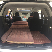 SUV Trunk Inflatable Car Mattress Flocking Portable Padded Cushion Sexy Travel Bed Child Lover