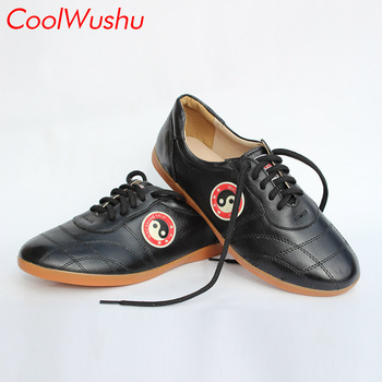 chinese tai chi shoes kung fu shoes wu shu xie taiji xie Fiber leather Martial arts shoes CoolWushu