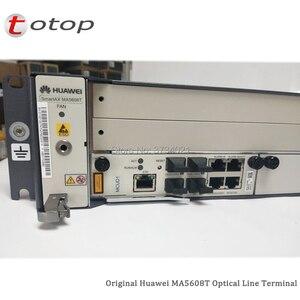 Image 3 - Expédition par DHL Huawei MA5608T GPON OLT avec 1 * MCUD 1G + 1 * carte dalimentation cc MPWC, Terminal de ligne optique MA5608T
