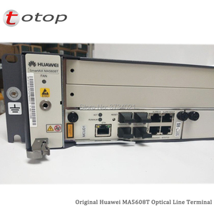 Image 3 - Shipping by DHL Huawei MA5608T GPON OLT with 1*MCUD 1G + 1*MPWC DC Power Board, MA5608T Optical Line Terminal