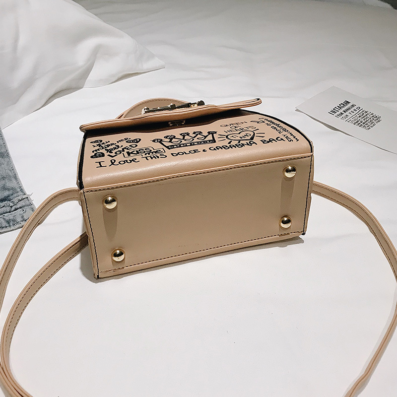 2019 Printing Crossbody Bags For Women Luxury Handbags Designer Famous Brand Bolsa Feminina Shoulder Bag Ladies Sac Main Leather in Shoulder Bags from Luggage Bags