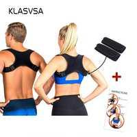 Ajustable haut du dos Posture correcteur Corset orthèse épaule dos soutien ceinture meilleur Posture correcteur pour femmes hommes grande taille
