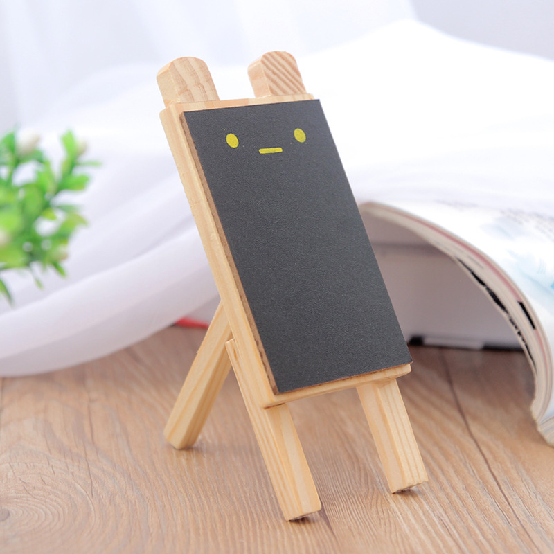 A Set Cute Mini Small Blackboard Children Message Board With Stand Chalk Household Blackboard Eraser
