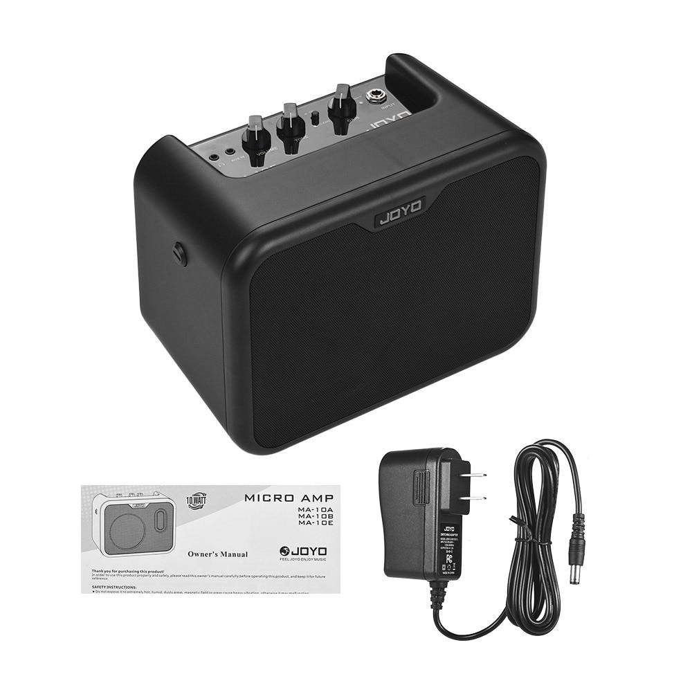 JOYO MA 10E Mini Electric Guitar Amplifier Portable Guitar Amp Speaker 10Watt OD Clean Dual Channels