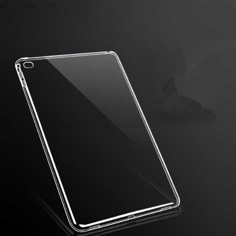 شفافة TPU حافظة لجهاز ipad الهواء 3 10. 5 برو 11 9.7 2018 الهواء البسيطة 5 واضح سيليكون رقيقة حالات لباد 2/3/4 واقية غطاء