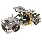 3D Wood Puzzle SUV Car Wooden Puzzle Simulation Animal Assembly Puzzle Model DIY Wooden 3D Decorative Puzzle For Kids Home Decor