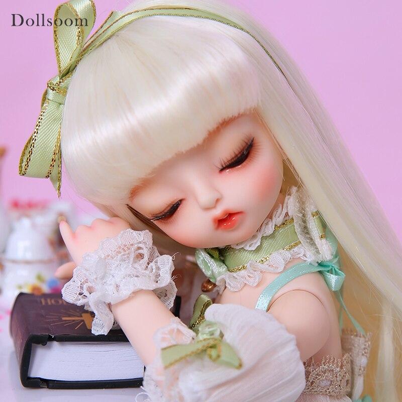 Conejito y miel 1/6 moda Junta resina cuerpo modelo bebé Luodoll resina figuras juguetes de alta calidad para cumpleaños Navidad BJD SD muñeca-in Muñecas from Juguetes y pasatiempos    1