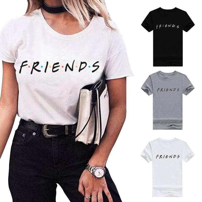 2019 Summer Women Clothing Ladies Plus Size Short Sleeve T-Shirt Letters Large Size Sweatshirt Print XXXL New Arrival