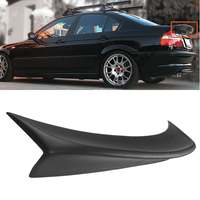 High quality Rear Polyurethane CSL Style Rear Trunk DuckBill HighKick Spoiler Wing for BMW 99 05 E46 4DoorR Sedan