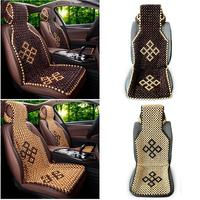 Summer Cool Wood Wooden Bead Seat Cover Massage Auto Car Cushion Chair Cover