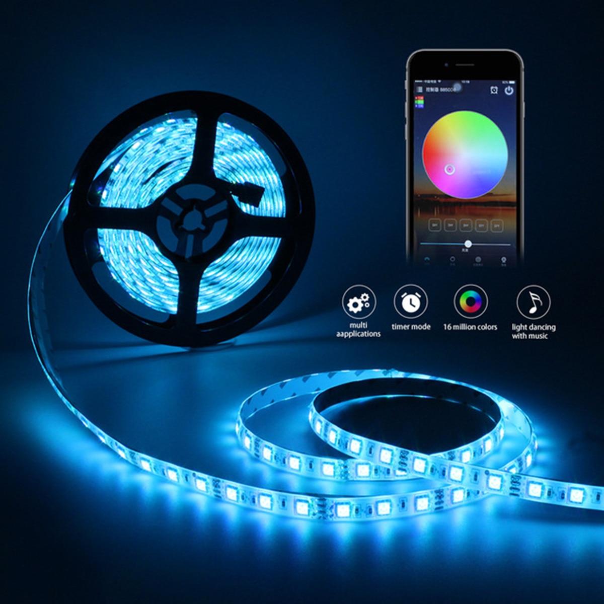 Led Strip Lights Smart Wifi 5050 Rgb 300 10m Waterproof