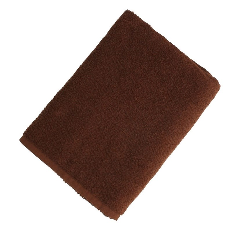 Towel Terry 50*90 cm chocolate schock ashn200u086 ash series cristadur 50 50 undermount double bowl kitchen sink chocolate