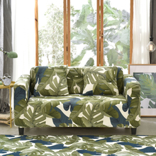 floral printed corner sofa cover stretch for living room elastic couch slipcovers single double three four seat