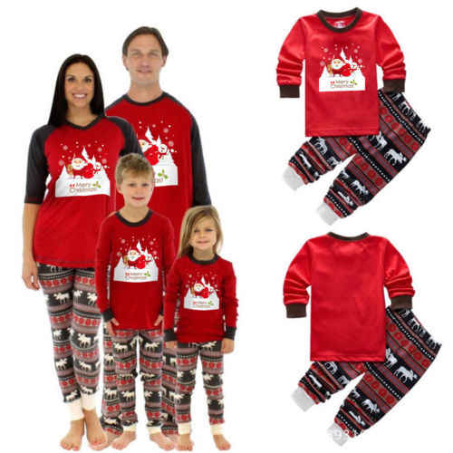 Detail Feedback Questions about Family Matching Christmas Red Long ... e1ecdd98a