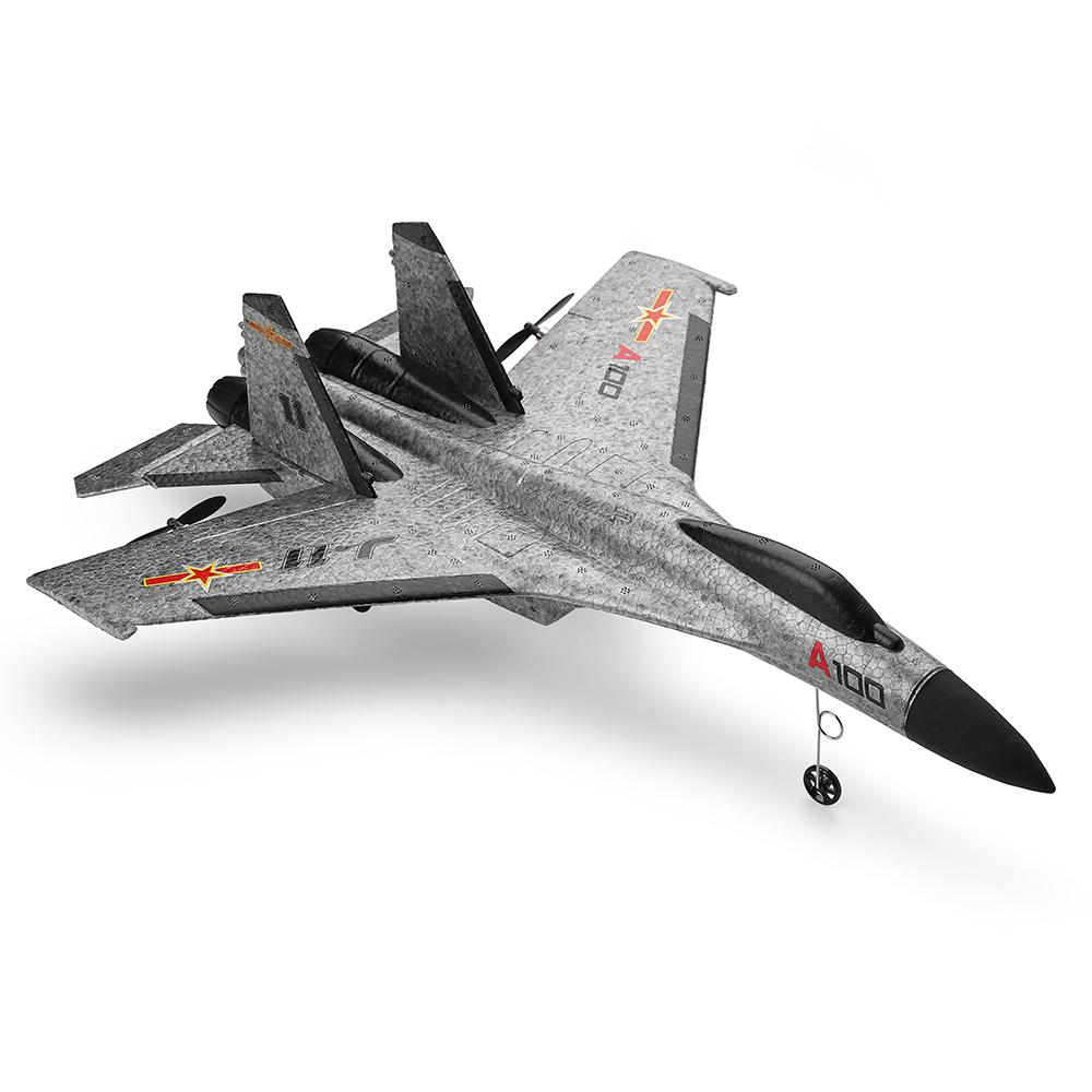 Image 5 - A100 J11 EPP 340mm Wingspan 2.4G 3CH RC Airplane Fixed Wing Aircraft Built Remove Control Plane Toys Children Birthday Gift-in RC Airplanes from Toys & Hobbies