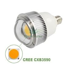 Figolite grow 2019 Amazon top selling Full spectrum 100w COB CXB3590 LED grow light bulb replace 300W CFL light