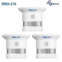 LM101.376 3 шт. беспроводной Zwave детектор дыма Z wave 868,42 МГц умный дом пожарный детектор работа с Zwave концентратор/шлюз