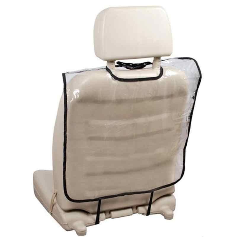 Assento de Carro Auto Cuidado transparente Voltar Protector Case Capa para Crianças Mat Lama Limpo De Plástico Transparente Anti-kick kick pad Dropship