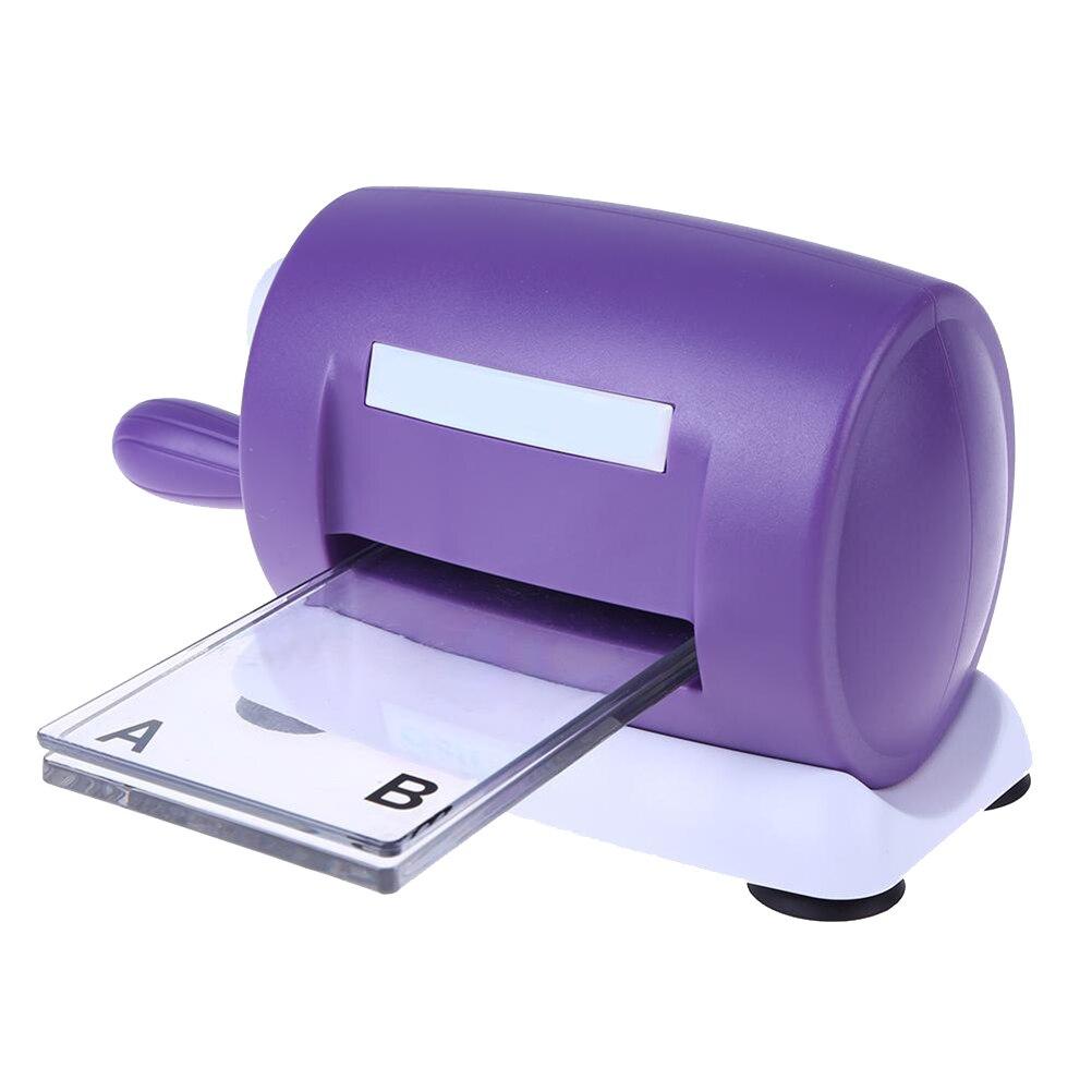 1 pc bricolage meurt découpe gaufrage Machine Scrapbooking meurt Cutter carte papier Machine découpée accueil gaufrage meurt outil (violet)