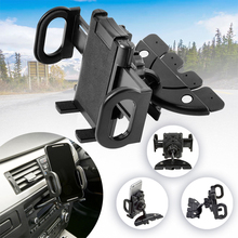 High Quality Universal Black 360 Degree Car CD Slot Mount Phone Holder Stand For GPS Mobile Cell Phone For Huawei P30 lite pro низкая табуретка cd degree