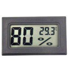 """FY-11 Мини цифровой ЖК-дисплей окружающей среды термометр категории """"сделай сам"""" гигрометр встроенный температурный и измеритель влажности в комнате"""