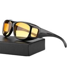 UVLAIK Vision Sunglasses Over Wrap Arounds Sun Glasses Driver Safety Glasses Night Driving Goggles Anti Glare Eyeglasses стоимость