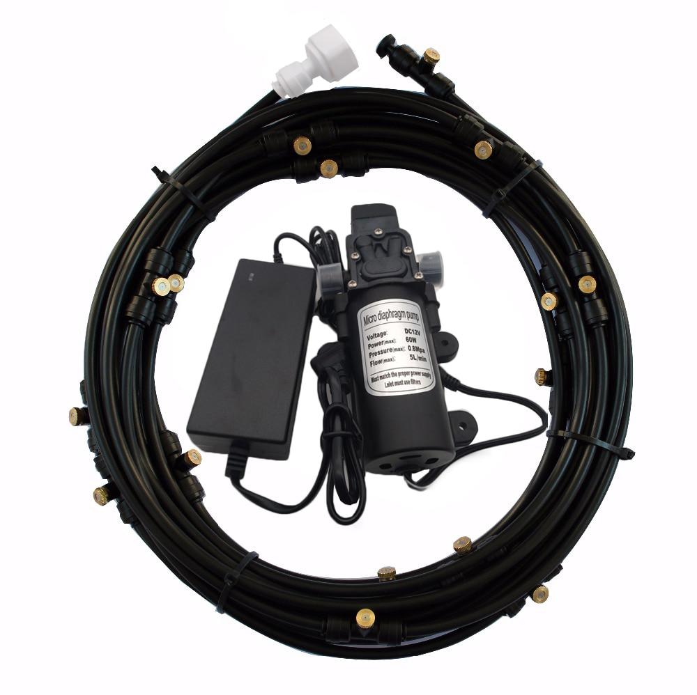 F175 Booster Diaphragm Water Pump High Pressure 12V 5L Min 160PSI Mist Pump With Low Pressure