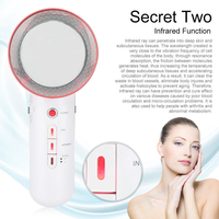 New Electric Face Lift Tools Ultrasound Beauty Body Healthy Slimming Massager Anti Cellulite Infrared Therapy Massage Tool