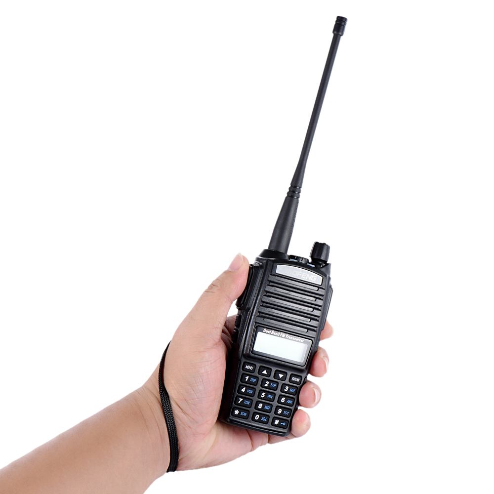 Cellphones & Telecommunications Baofeng Uv-82 Vhf/uhf Dual Band Handheld Transceiver Interphone 128 Memory Channels Battery Save Led Flashlight Walkie Talkie To Help Digest Greasy Food