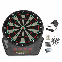 Electronic Darts Board Set LED Scoring Display with 6 Tip Darts Shot Glass Alcohol Drink Game Roulette Target Darts Home Toys