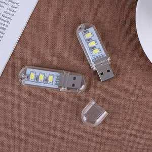 USB Gadgets Night-Light Laptop Computer Mini Portable Led-Lamp Notebook for PC 2pcs Usb-Flash-Drive