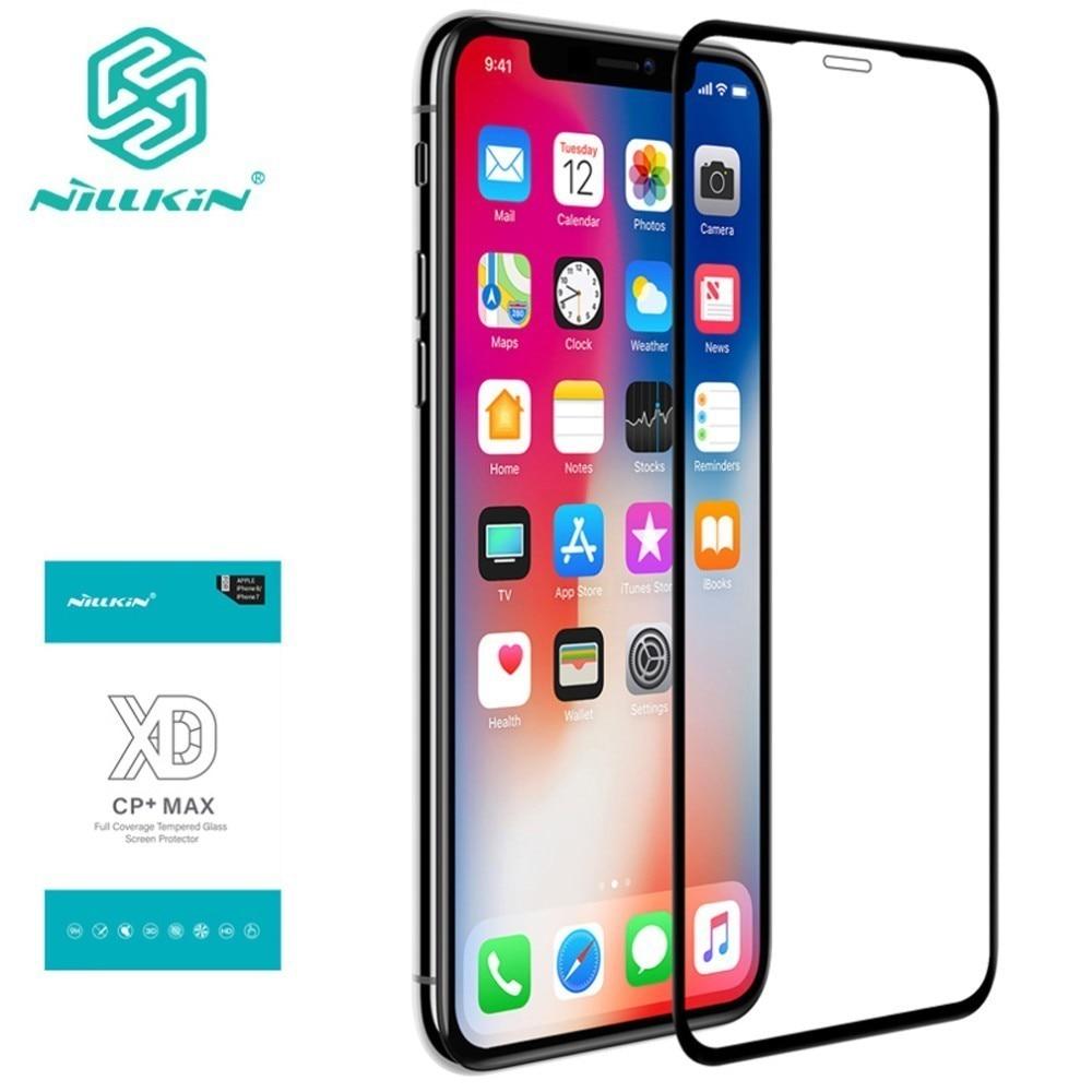 7a735fc8adf Cheap Para iPhone XS Max de vidrio templado Nillkin XD CP MAX completa de  la cubierta