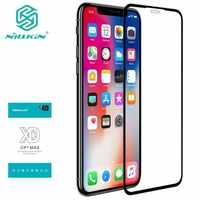 Para iPhone XS Max 11 pro max vidrio templado Nillkin XD MAX Protector de pantalla de cubierta completa para iPhone X XR 7 8 Plus película antirreflejo