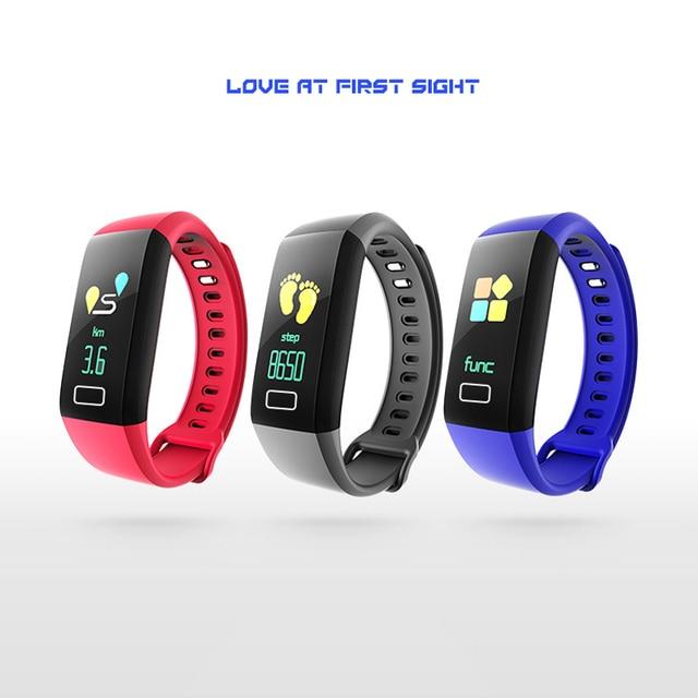 New G5 Bluetooth Smart Wristband Fitness Tracker BT Watch Smart Bracelet Fitness Tracker OLED Screen Heart Rate Monitor