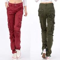 #0905 Black Hip Hop Pants Women Casual Joggers Streetwear Pleated Cargo Pants Multi Pocket Military Loose Plus Size Trousers
