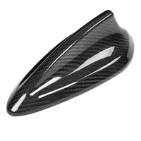 Car Carbon Fiber Antenna Shark Fin Cover Trim for BMW F22 F30 F35 F34 F32 F33 F80 Car Styling Accessories Antenna Cover